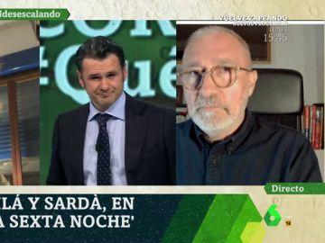 """El mensaje de Xavier Sardà a los políticos: """"Hagan el favor de comportarse"""""""