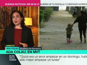 """Ada Colau: """"Se han vulnerado los derechos de los niños teniéndolos encerrados durante seis semanas"""""""