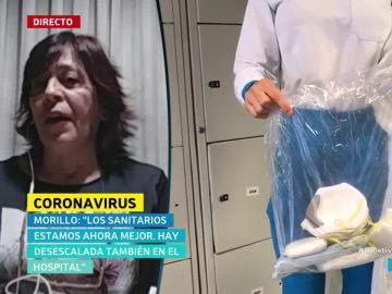 Esperanza Morillo, jefa de Enfermería de La Princesa