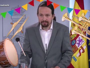 """El 'himno' de Iglesias para agradecer el comportamiento de los niños: """"Correr, saltar, respetando el distanciamiento social"""""""