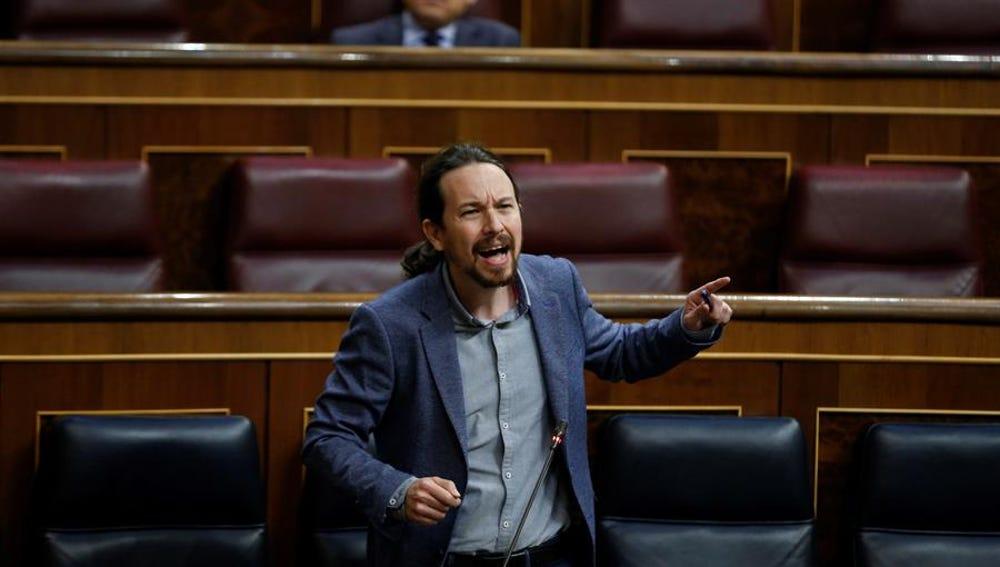 El vicepresidente tercero del Gobierno, Pablo Iglesias