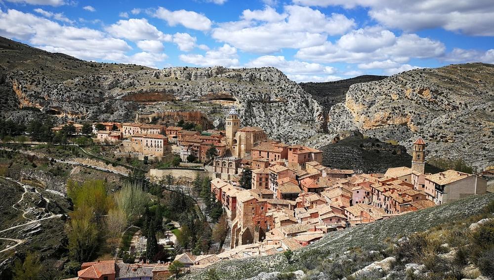 Panorámica de Albarracín, en Teruel
