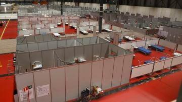 Imagen del hospital temporal de IFEMA