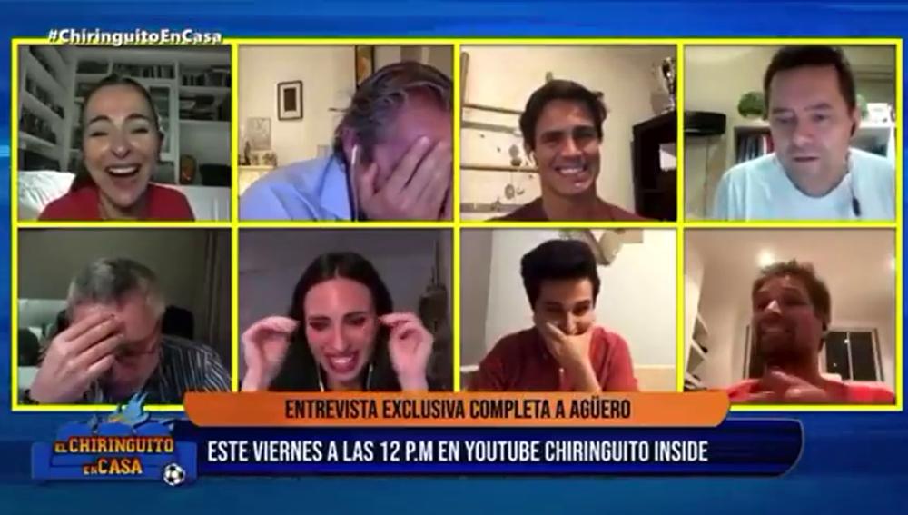 El ataque de risa más surrealista en 'El Chiringuito': ¿12 p.m. o 12 a.m.?