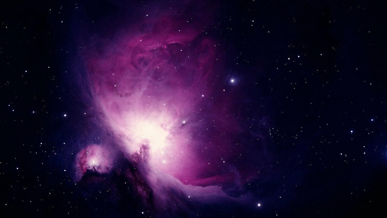 Imagen de la nebulosa de Orión en el espacio