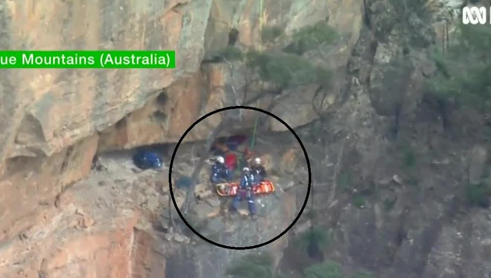 Rescate en Australia
