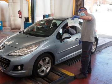 Inspección técnica de vehículos tras la cuarentena por coronavirus