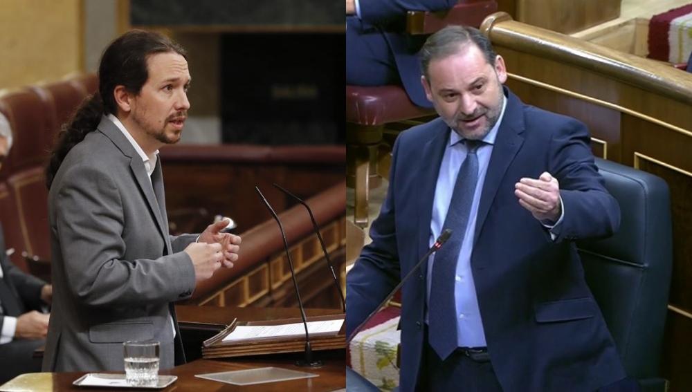 Pablo Iglesias y José Luis Ábalos