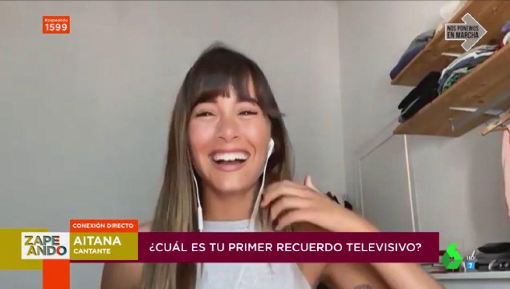 Aitana Ocaña, en Zapeando