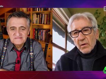 El Gran Wyoming entrevista en El Intermedio a José Sacristán
