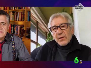 """José Sacristán responde a la polémica de Vox con los actores: """"Esta tropa, todo lo que destila y genera es siniestro"""""""