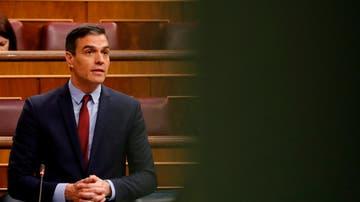 El presidente del Gobierno, Pedro Sánchez, en el Congreso de los Diputados