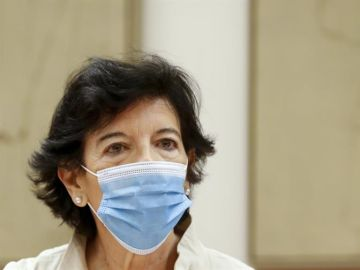 La ministra de Educación, Isabel Celaá, en una imagen de archivo