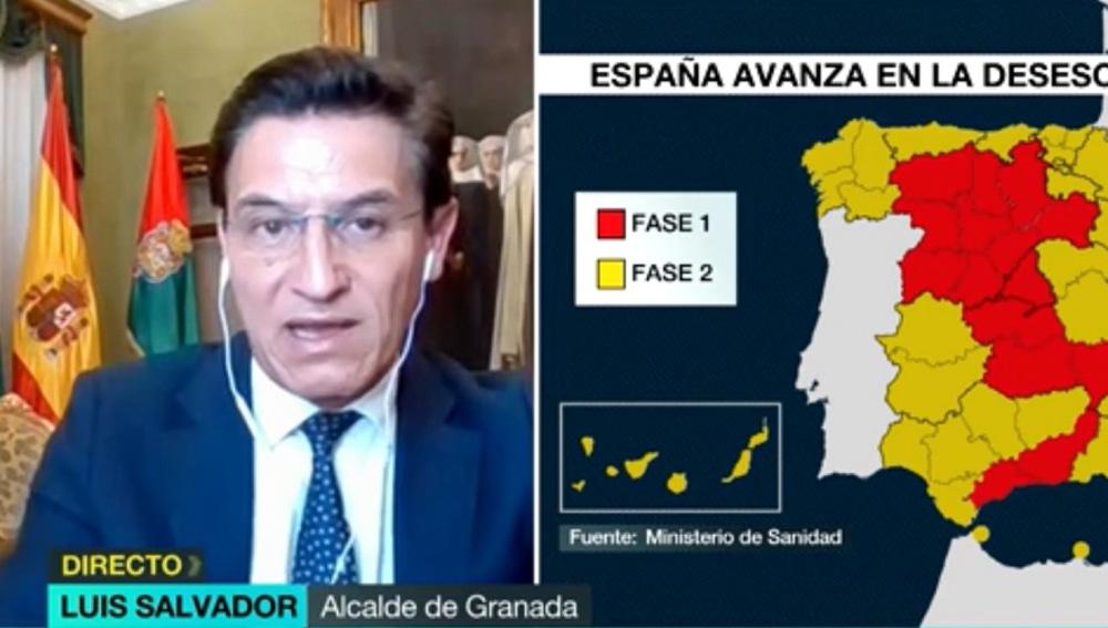 Luis Salvador, alcalde de Granada