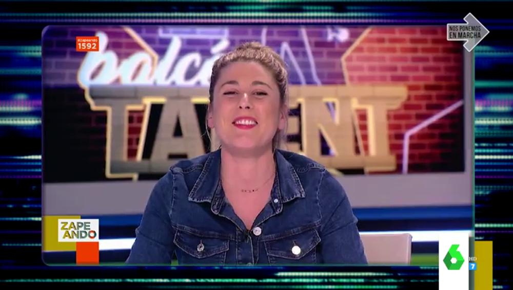 """La divertida recopilatoria de los mayores despistes de Valeria Ros en Zapeando: """"Soy una empanada"""""""