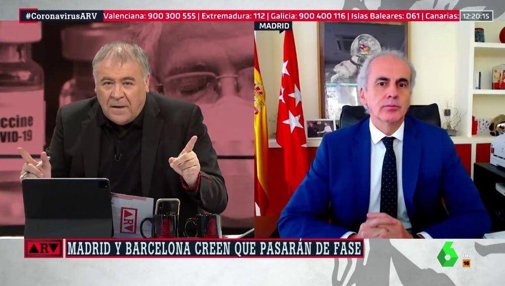 Enrique Ruiz Escudero en ARV