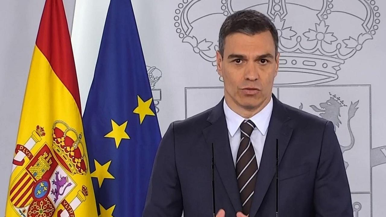 Pedro Sánchez comparece en La Moncloa