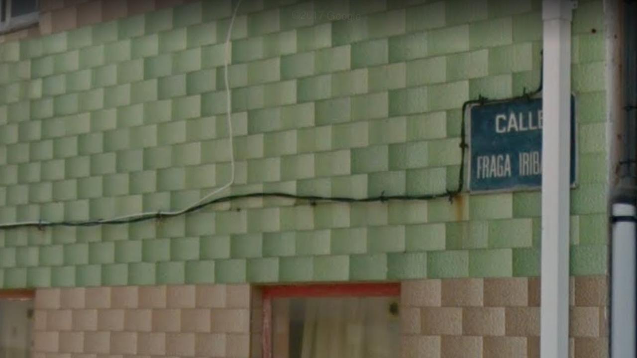 Calle de Fraga Iribarne, en Cedeira