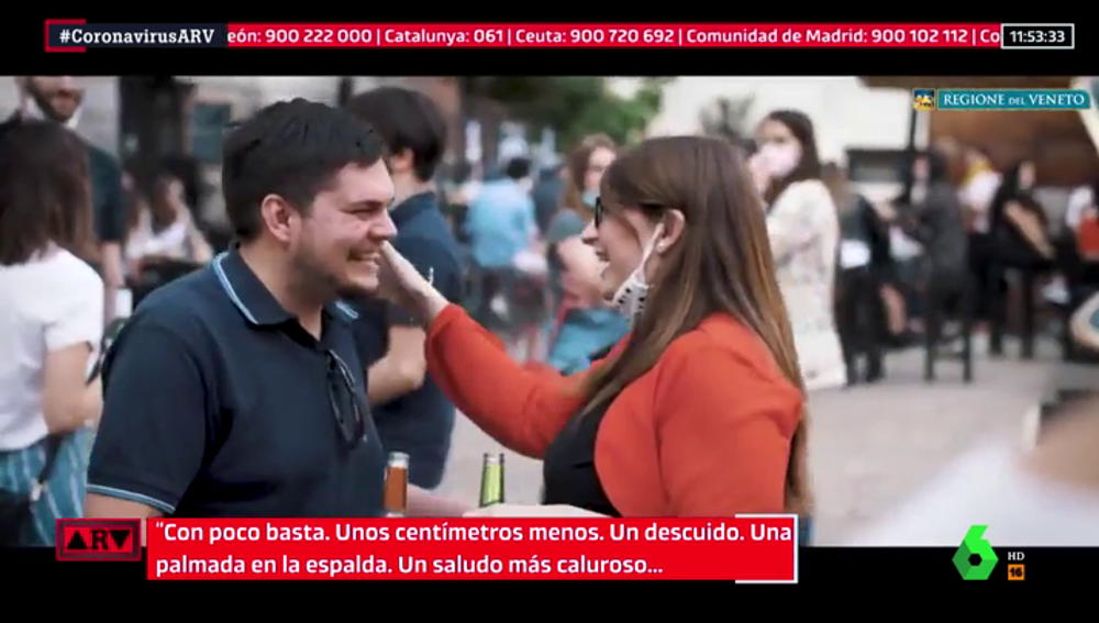 Así es la campaña italiana lanzada en el Véneto para concienciar sobre los riesgos de la desescalada