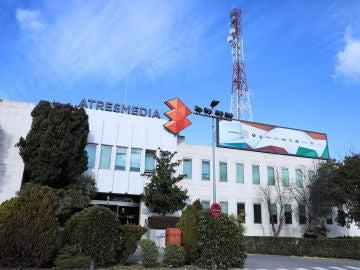 Imagen de la sede de ATRESMEDIA en Madrid