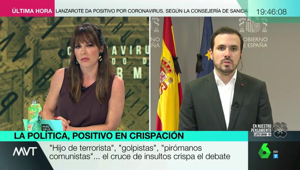 """Alberto Garzón: """"El Ingreso Mínimo Vital no es una 'paguita', es un derecho"""""""