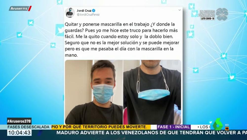 mascarilla Jordi Cruz