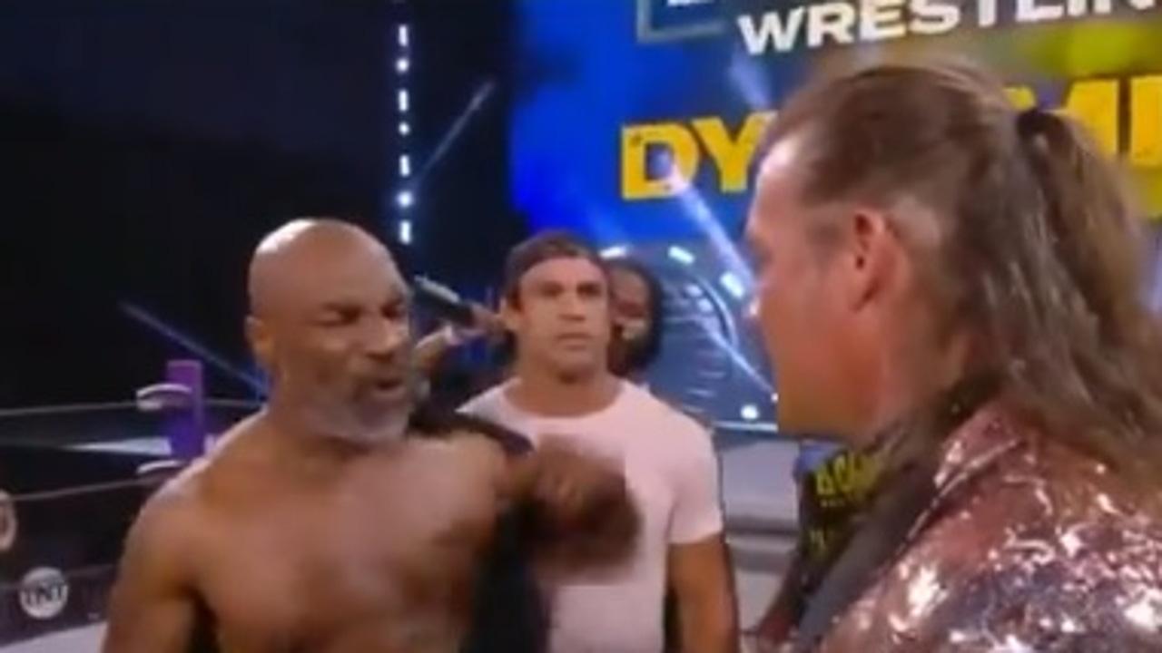 Mike Tyson en la WWE