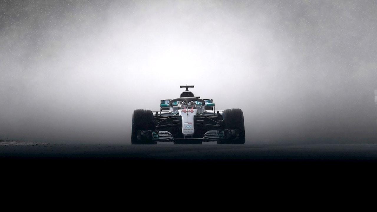 Lewis Hamilton, en el Mercedes