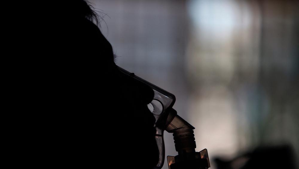Imagen de un paciente que sufre esclerosis múltiple
