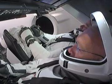 Lanzamiento del cohete espacial SpaceX