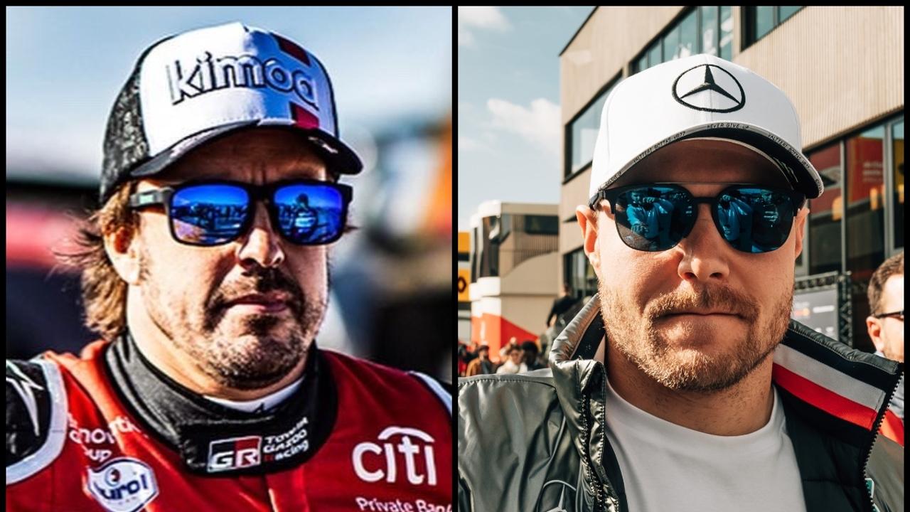 Fernando Alonso y Valtteri Bottas