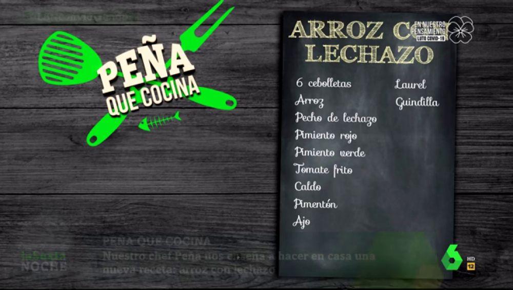 El chef Javier Peña nos enseña a cocinar uno de sus platos favoritos: arroz con lechazo