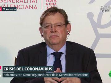 """Ximo Puig: """"La crispación ni genera empleo ni salva vidas"""""""
