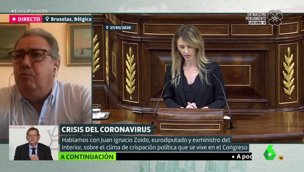 """Zoido, sobre Álvarez de Toledo: """"No me encuentro cómodo con ese tono, pero ella no ha comenzado"""""""