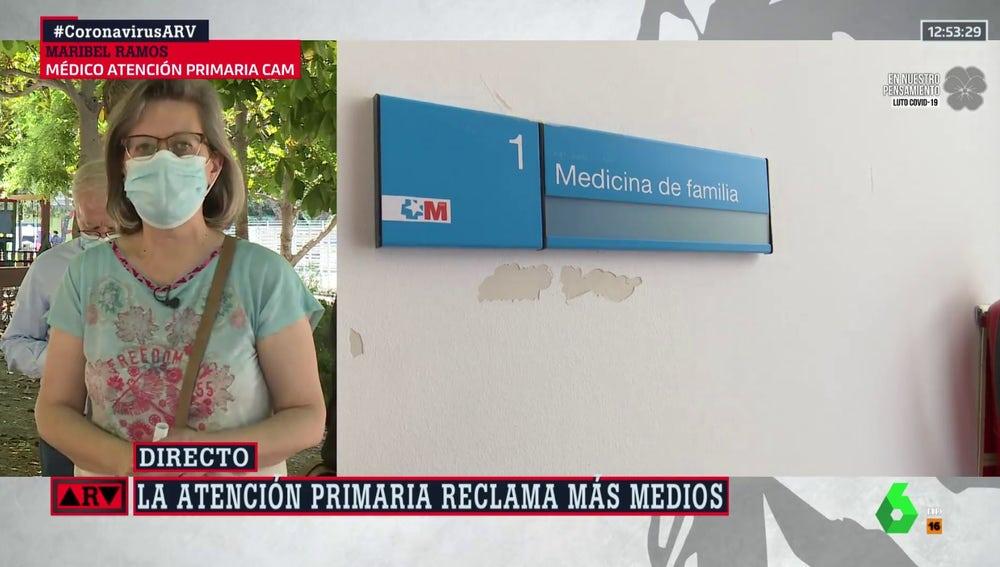 Maribel Ramos, doctora de Atención Primaria