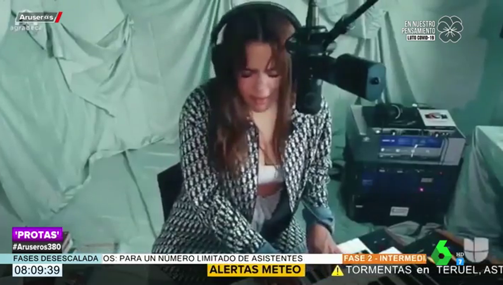Rosalía emociona a México con su interpretación de 'La Llorona'