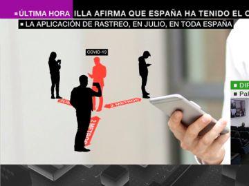 Así será la aplicación de rastreo de coronavirus que estará disponible en España en julio: avisa de los contactos contagiados