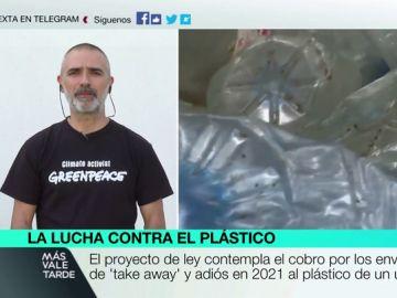 Julio Barea, responsable de campañas de Greenpeace España
