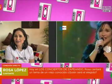 """Rosa López recuerda cómo vivió el 'Europe is living a celebration' hace hoy 18 años: """""""