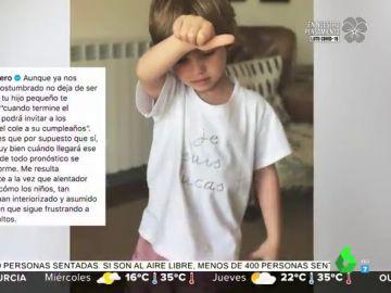 La bonita carta de Sara Carbonero a su hijo Lucas por su cumpleaños