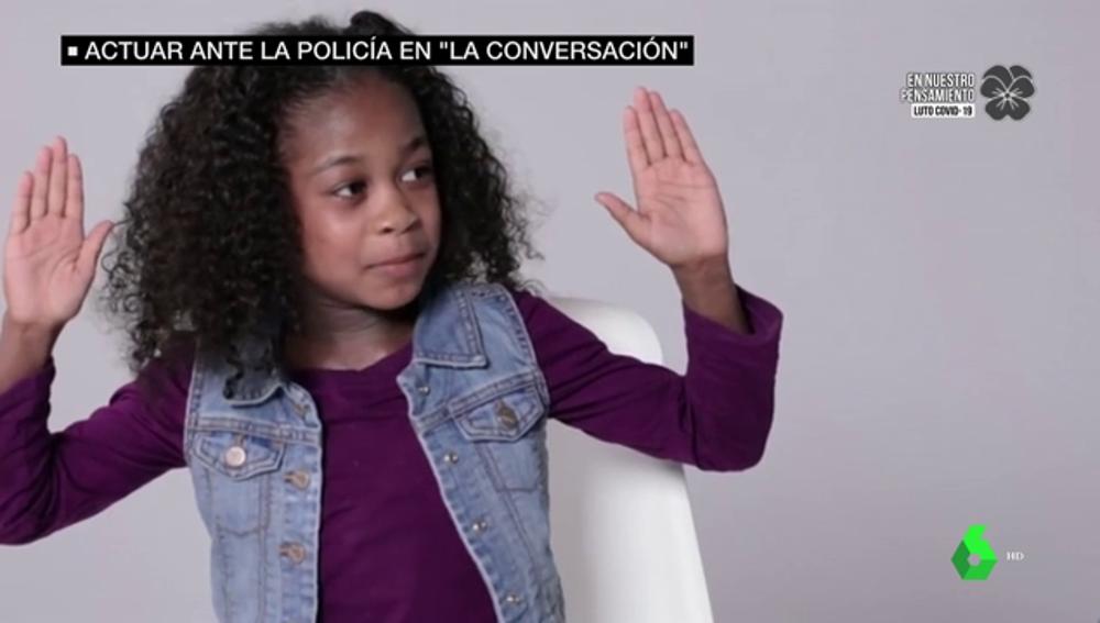 """""""Soy Erin, tengo 8 años y no voy armada"""": así enseñan los padres negros a sus hijos a actuar ante la Policía en EEUU"""