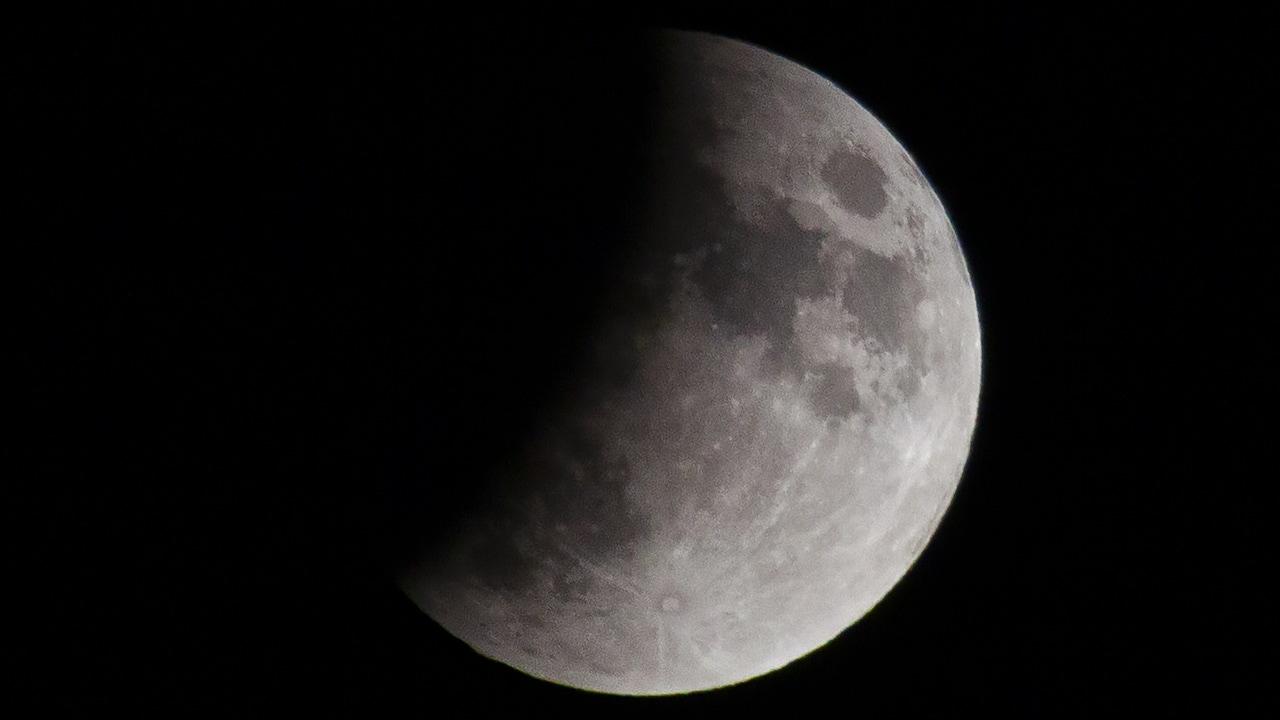 Imagen de archivo de un eclipse lunar