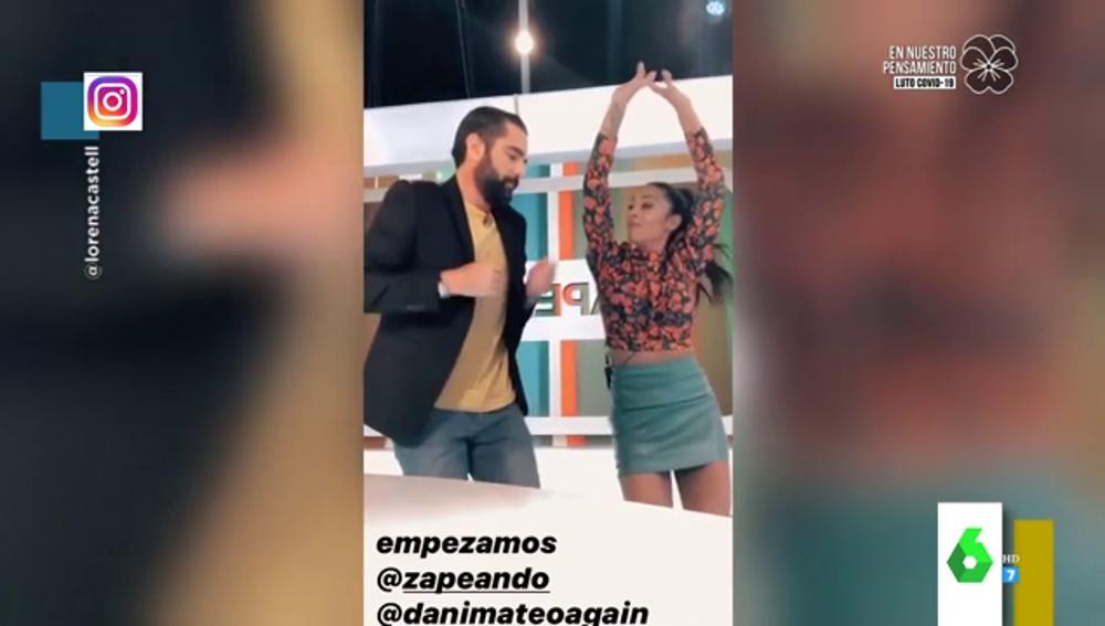 El divertido Tik Tok de Dani Mateo y Lorena Castell al ritmo de 'Tómbola'