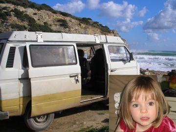 Caravana del sospechoso de la desparición de Madeleine McCann