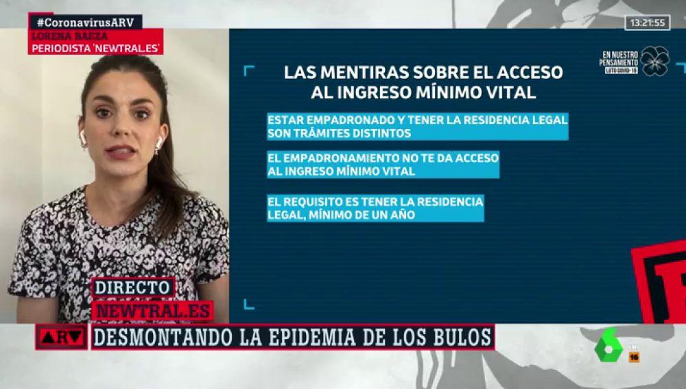 Bulos sobre el Ingreso Mínimo Vital: es falso que empadronarse en España dé acceso a la prestación