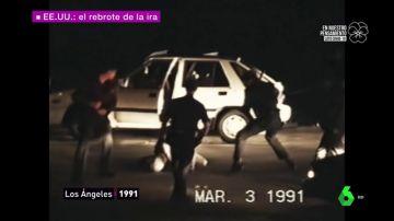 De Rodney King a Latasha Harlings: los casos de racismo y brutalidad policial que incendiaron las calles de Los Ángeles
