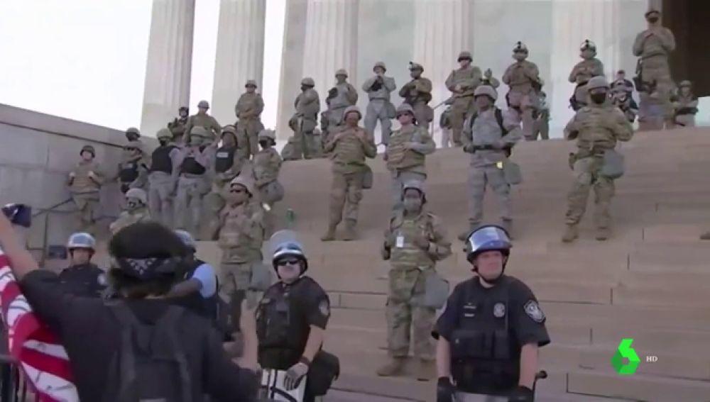 El Ejército de EEUU se 'vuelve' contra Trump: rechaza el uso militar para acallar las protestas