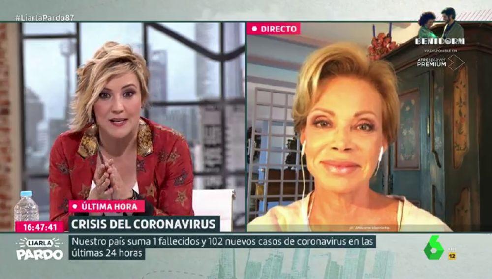 Cristina Pardo entrevista a Paloma San Basilio