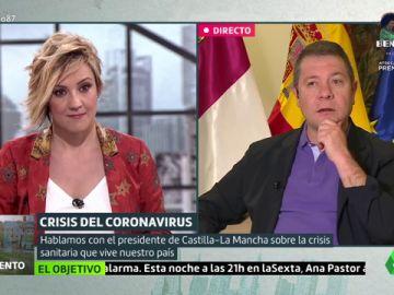 """Emiliano García-Page: """"Hay que estar muy desesperado para pactar con Bildu"""""""