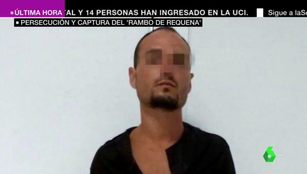 Detienen al 'Rambo de Requena' tras disparar a un agente en el estómago y darse a la fuga en Teruel